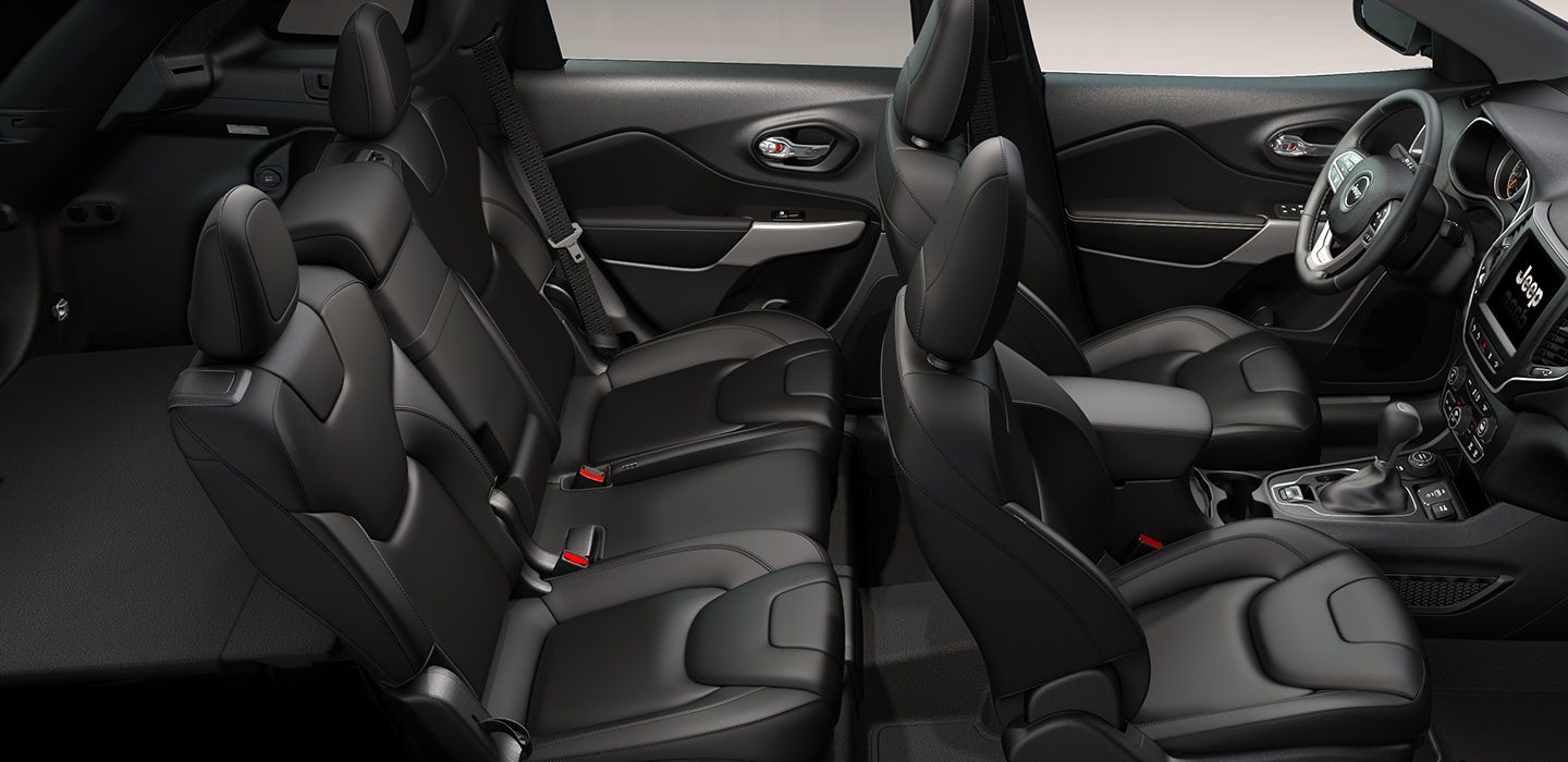 2019 Jeep Cherokee Limited Seating Interior