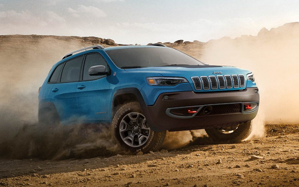 2019 Jeep Cherokee Blue Exterior Off-Road