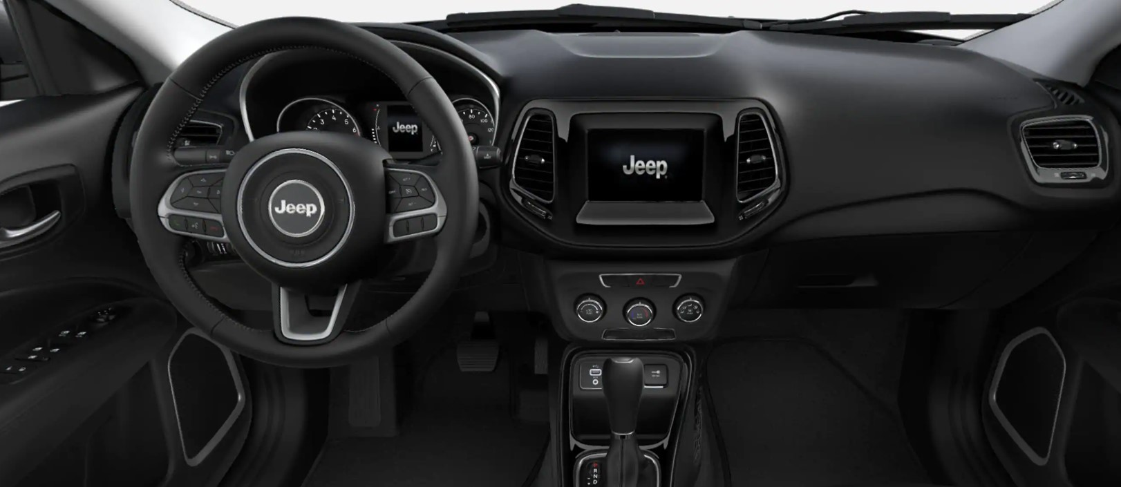 2019 Jeep Compass Altitude Dashboard Interior