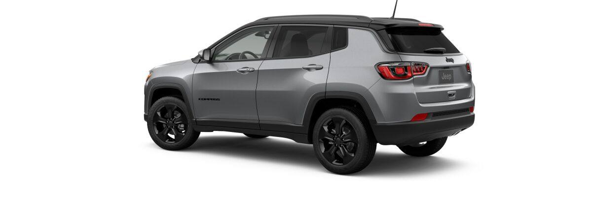 2019 Jeep Compass Altitude Front Gray Exterior