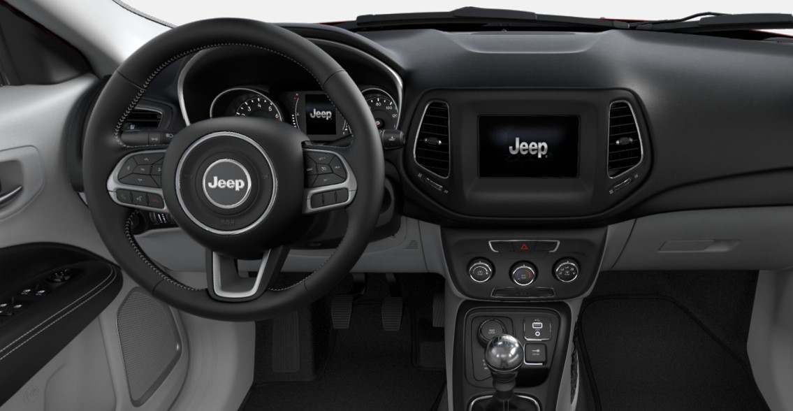 2019 Jeep Compass Latitude Dashboard Interior