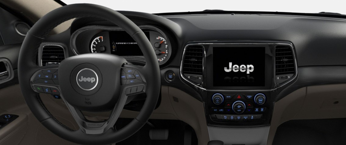 2019 Jeep Grand Cherokee Altitude Dashboard Interior
