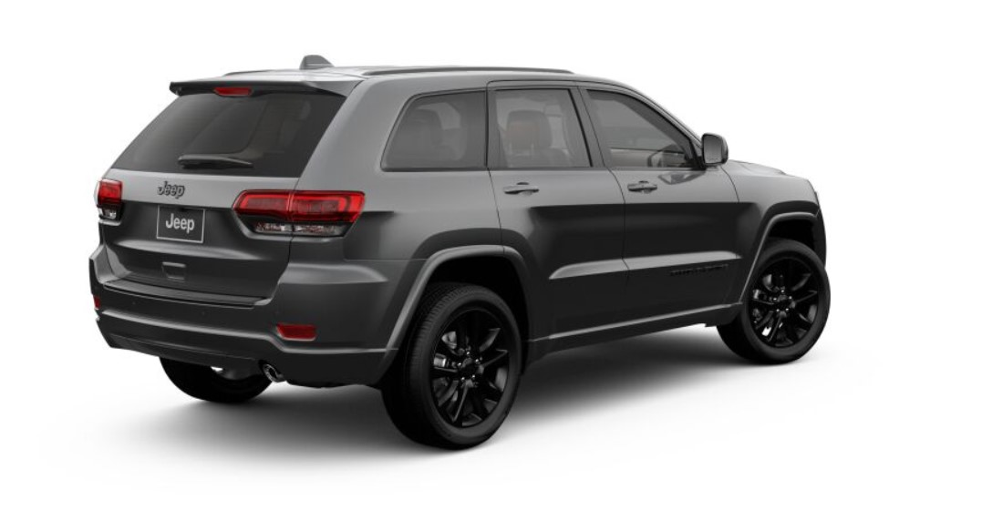 2019 Jeep Grand Cherokee Altitude Rear Gray Exterior