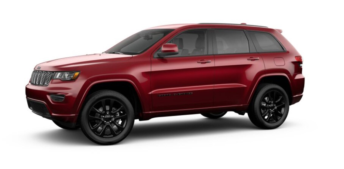2019 Jeep Grand Cherokee Altitude Side Red Exterior