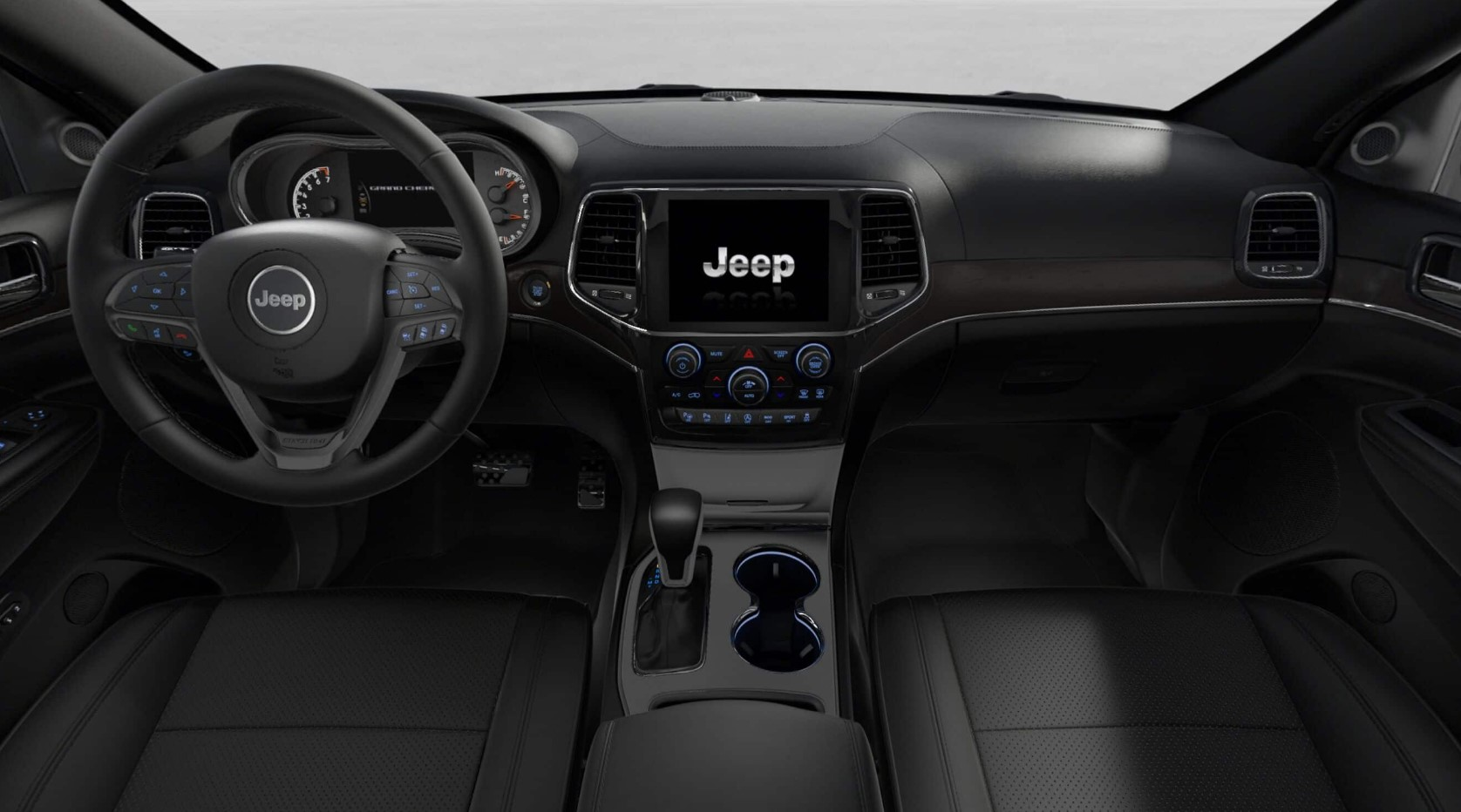 2019 Jeep Grand Cherokee High Altitude Front Interior