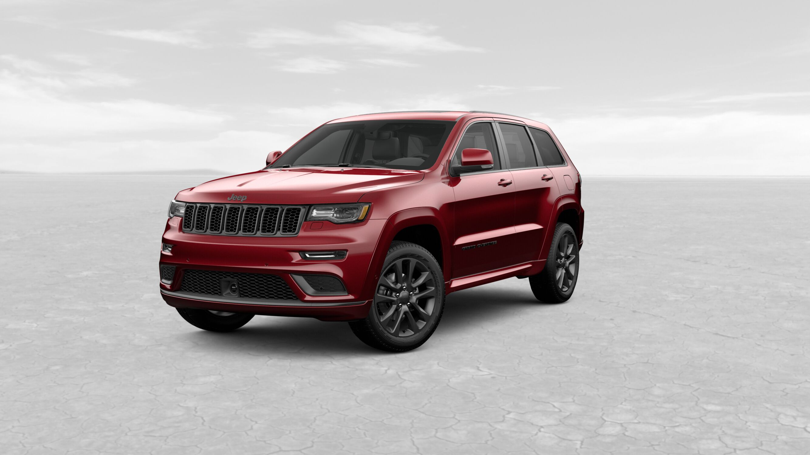 2019 Jeep Grand Cherokee High Altitude Red Exterior Front View