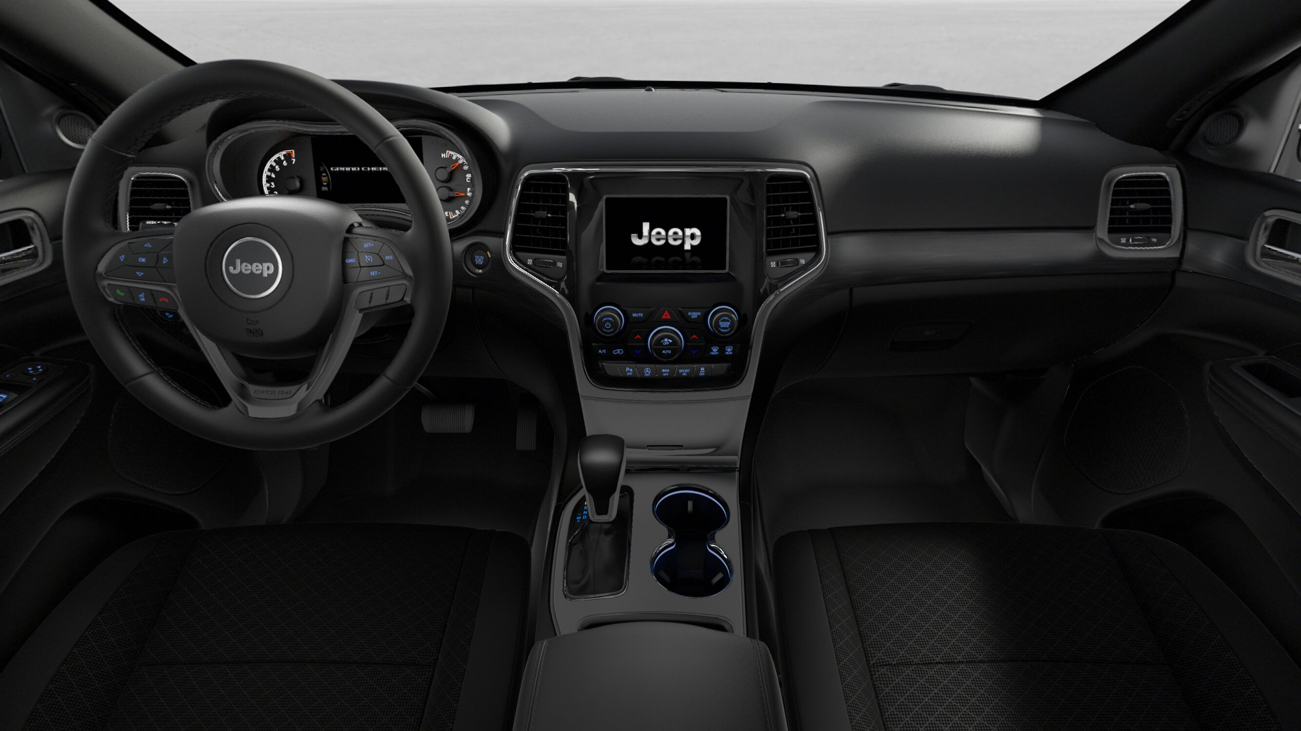 2019 Jeep Grand Cherokee Laredo Front Interior Dashboard