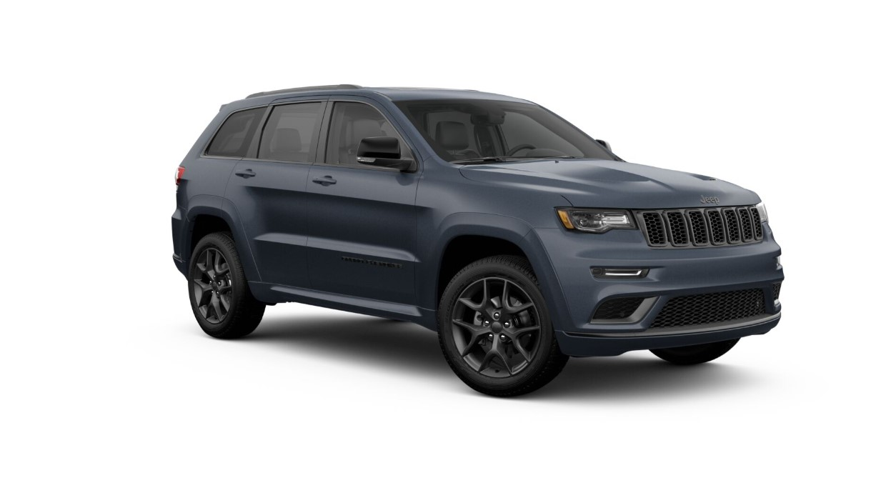 2019 Jeep Grand Cherokee Limited X Blue Exterior Front View Picture
