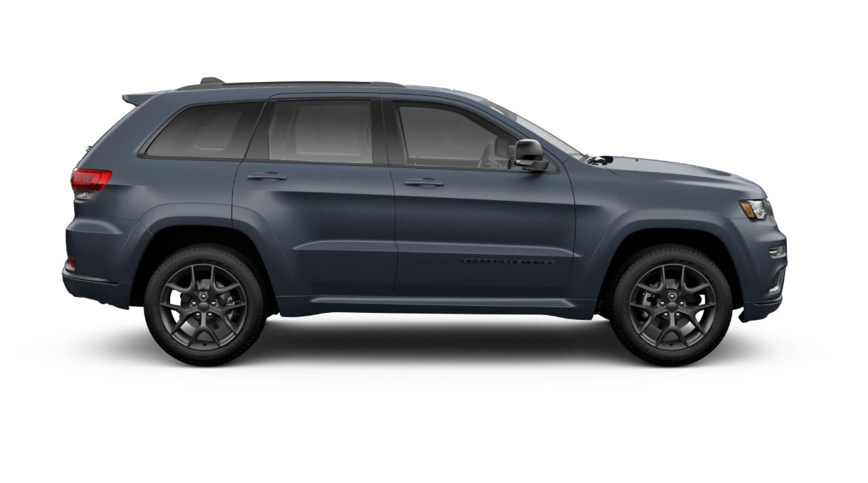 2019 Jeep Grand Cherokee Limited X Blue Exterior Side Profile