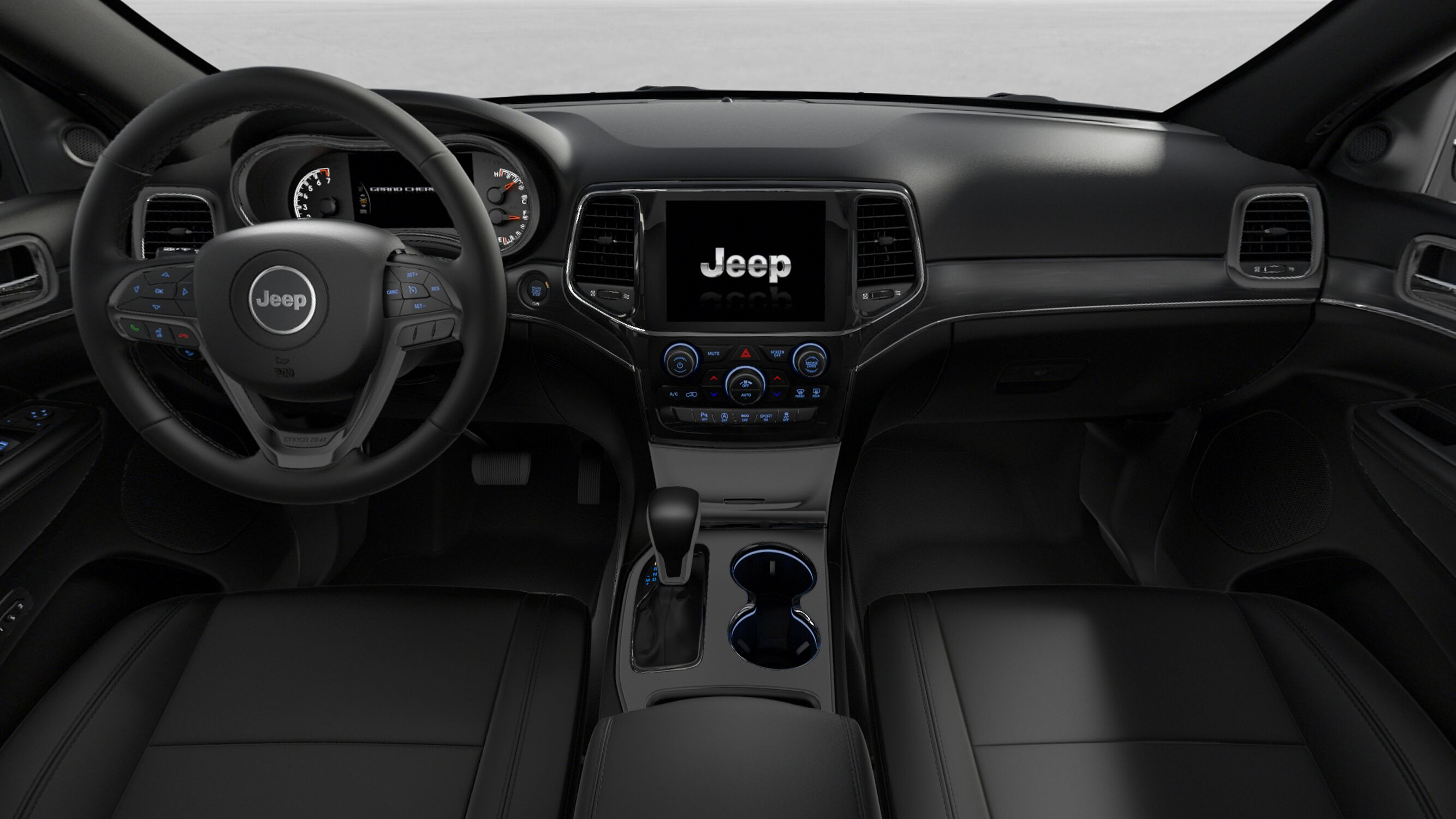 2019 Jeep Grand Cherokee Limited Front Interior Dashboard