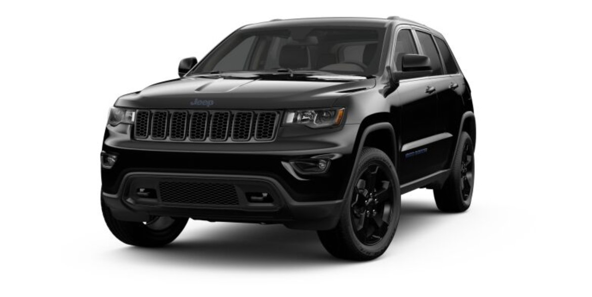 2019 Jeep Grand Cherokee Upland Front Black Exterior
