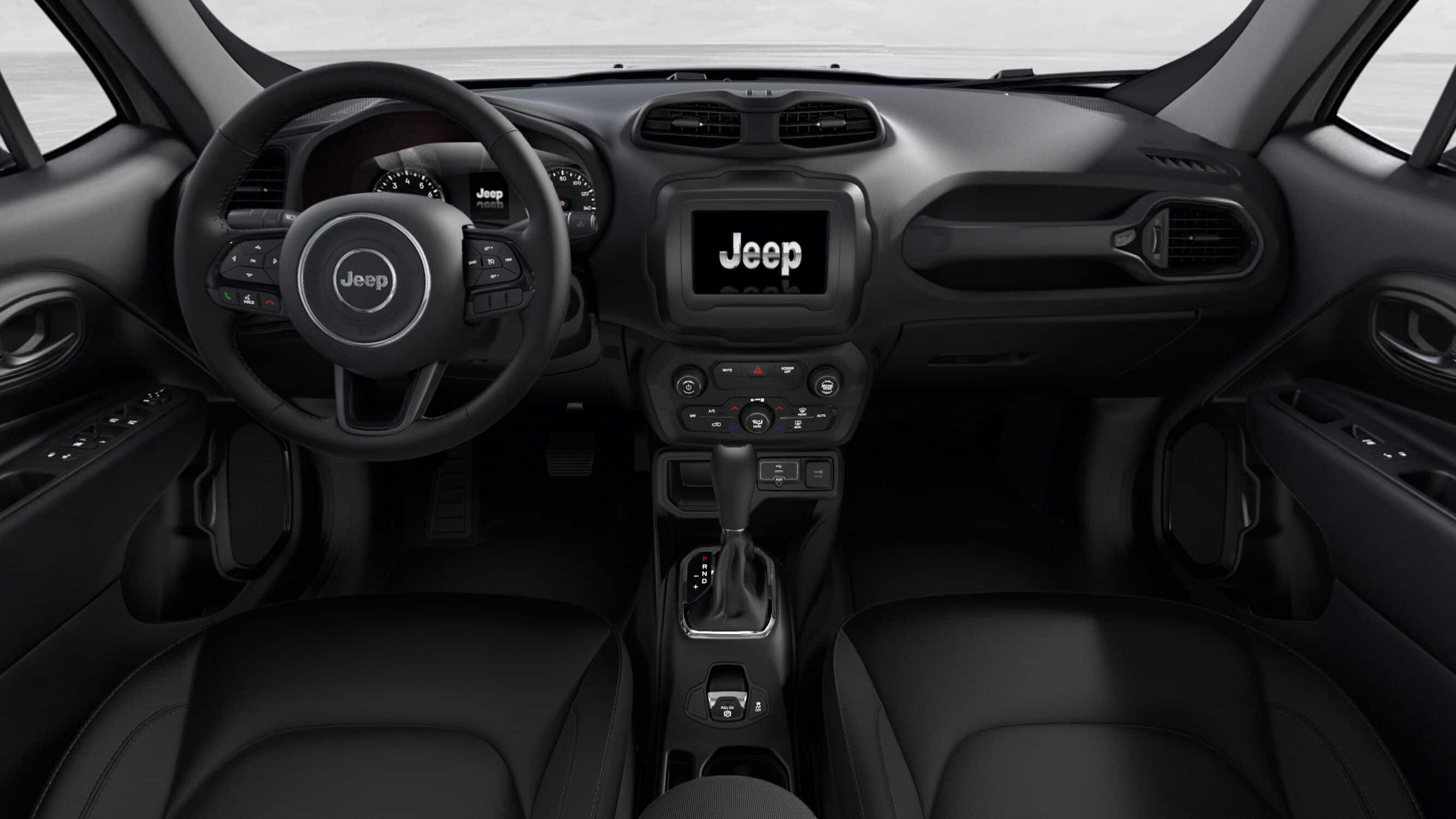 2019 Jeep Renegade Altitude Front Interior Picture