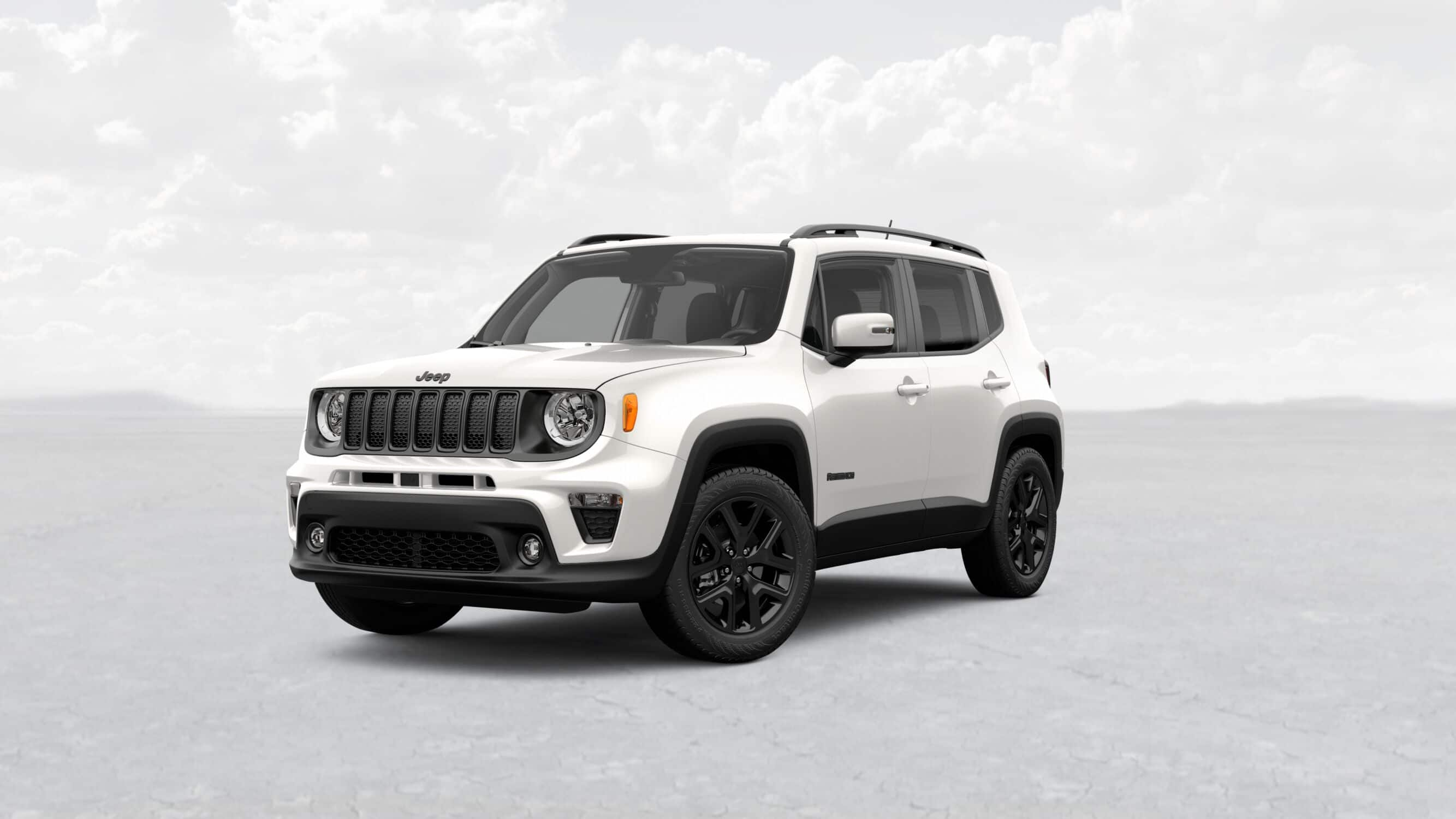 2019 Jeep Renegade Altitude White Exterior Front Picture