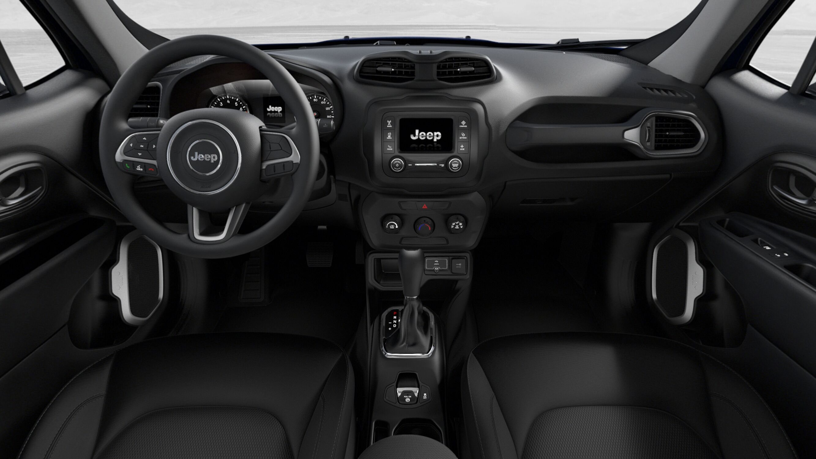 2019 Jeep Renegade Sport Front Interior Picture