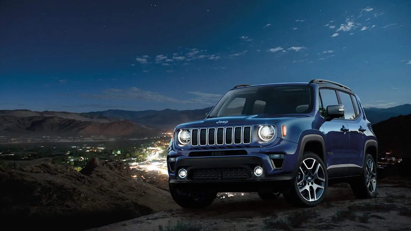 2019 Jeep Renegade Blue Front Exterior