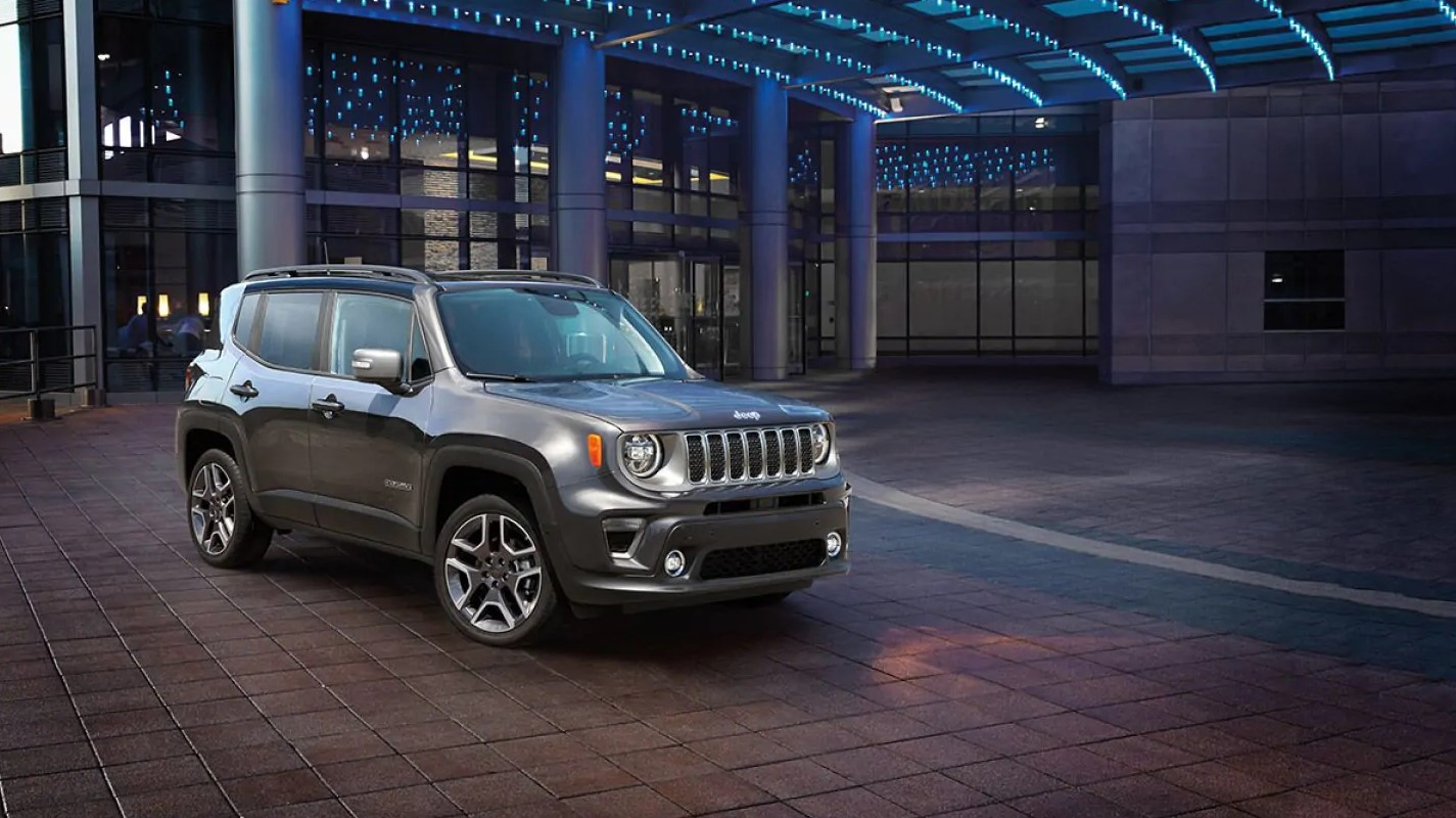 2019 Jeep Renegade Front Gray Exterior