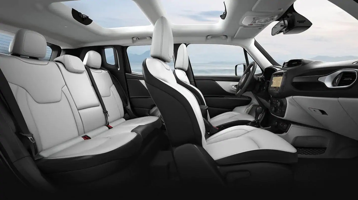 2019 Jeep Renegade Interior Seating
