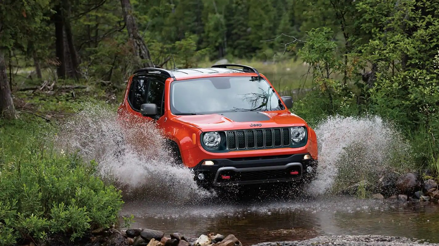 2019 Jeep Renegade Red Front Exterior