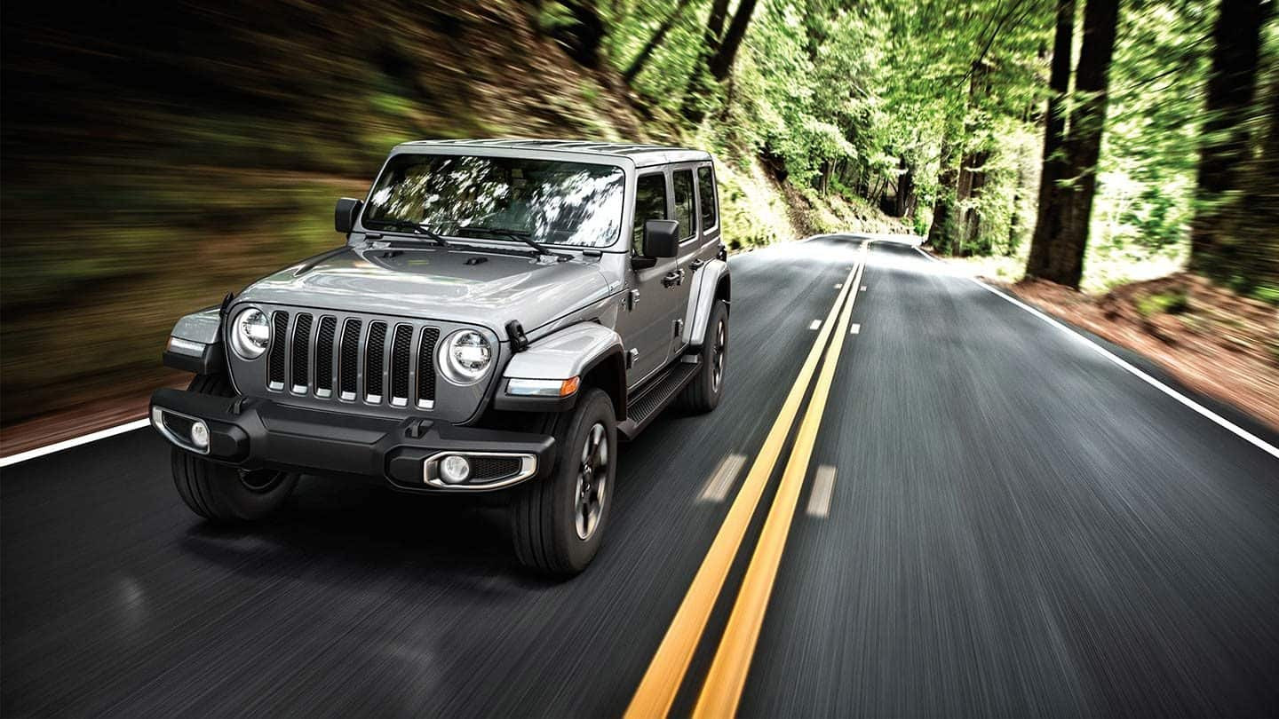 2019 Jeep Wrangler Unlimited Front Gray Exterior
