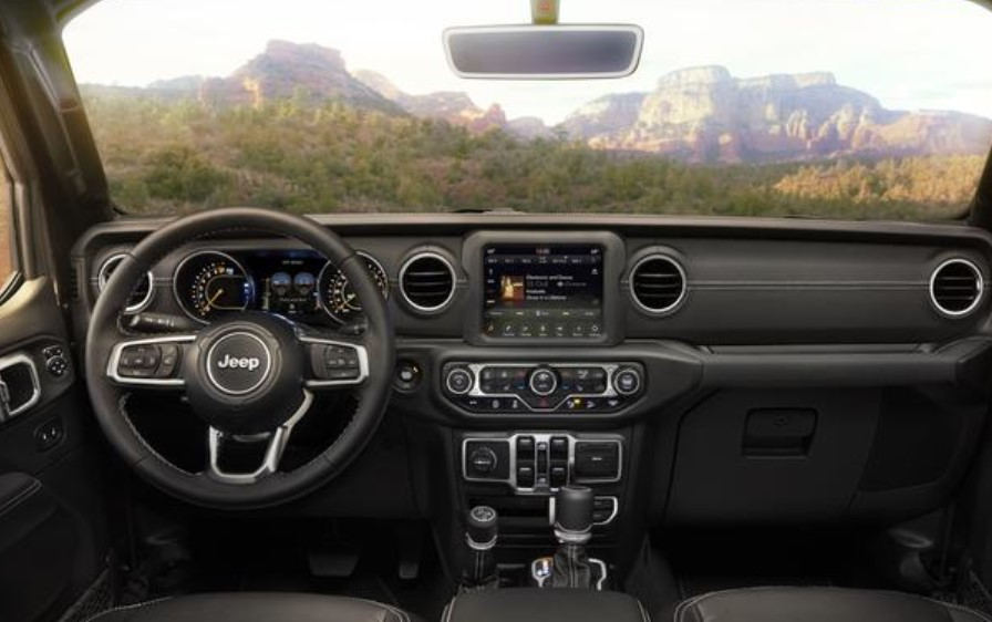 2019 Jeep Wrangler Front Dashboard Interior