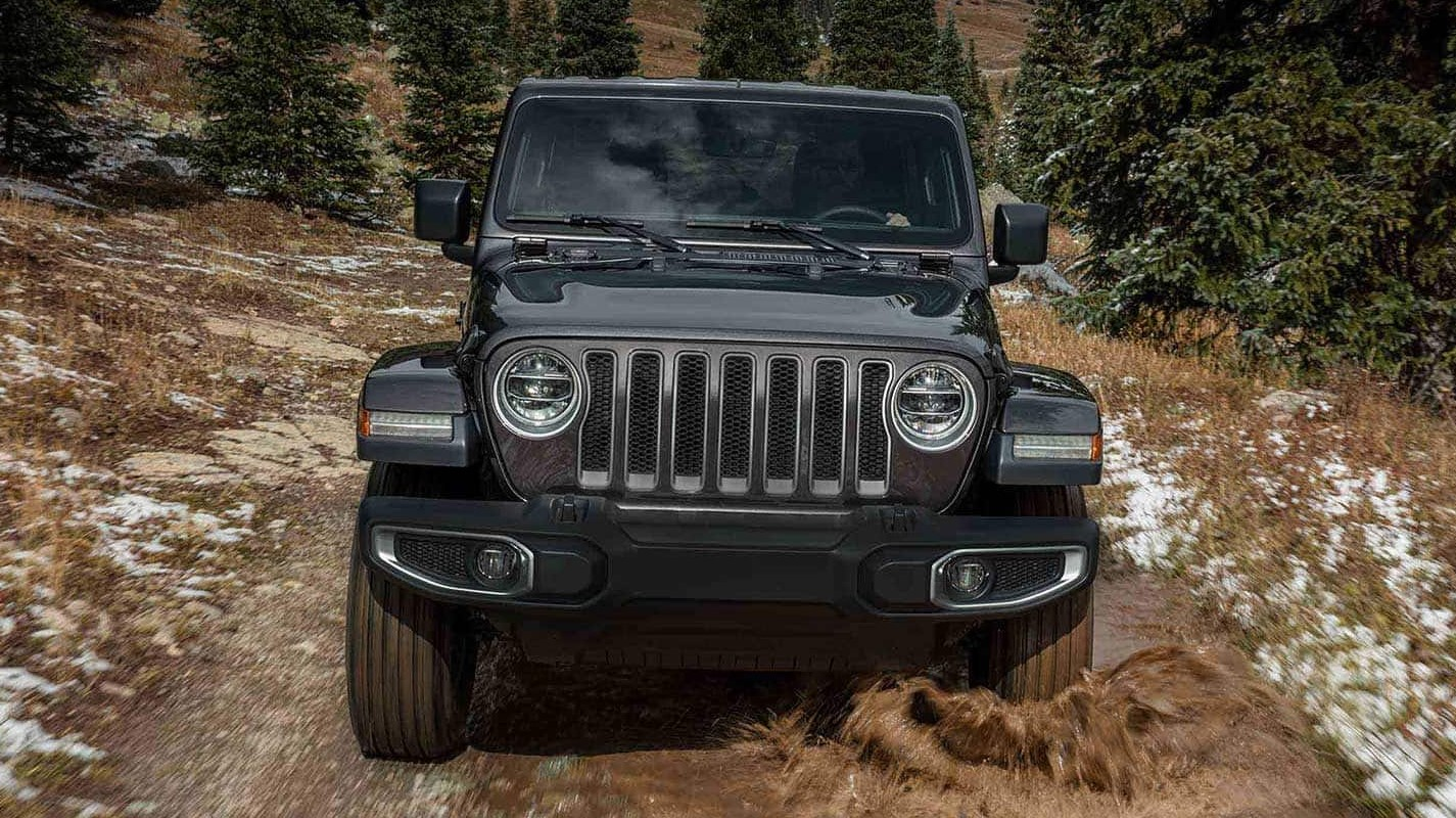 2019 Jeep Wrangler Front Gray Exterior
