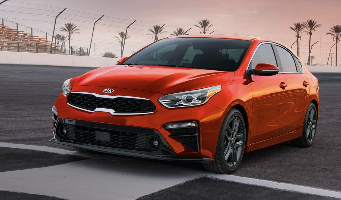 2019 Kia Forte Fiery Red Exterior