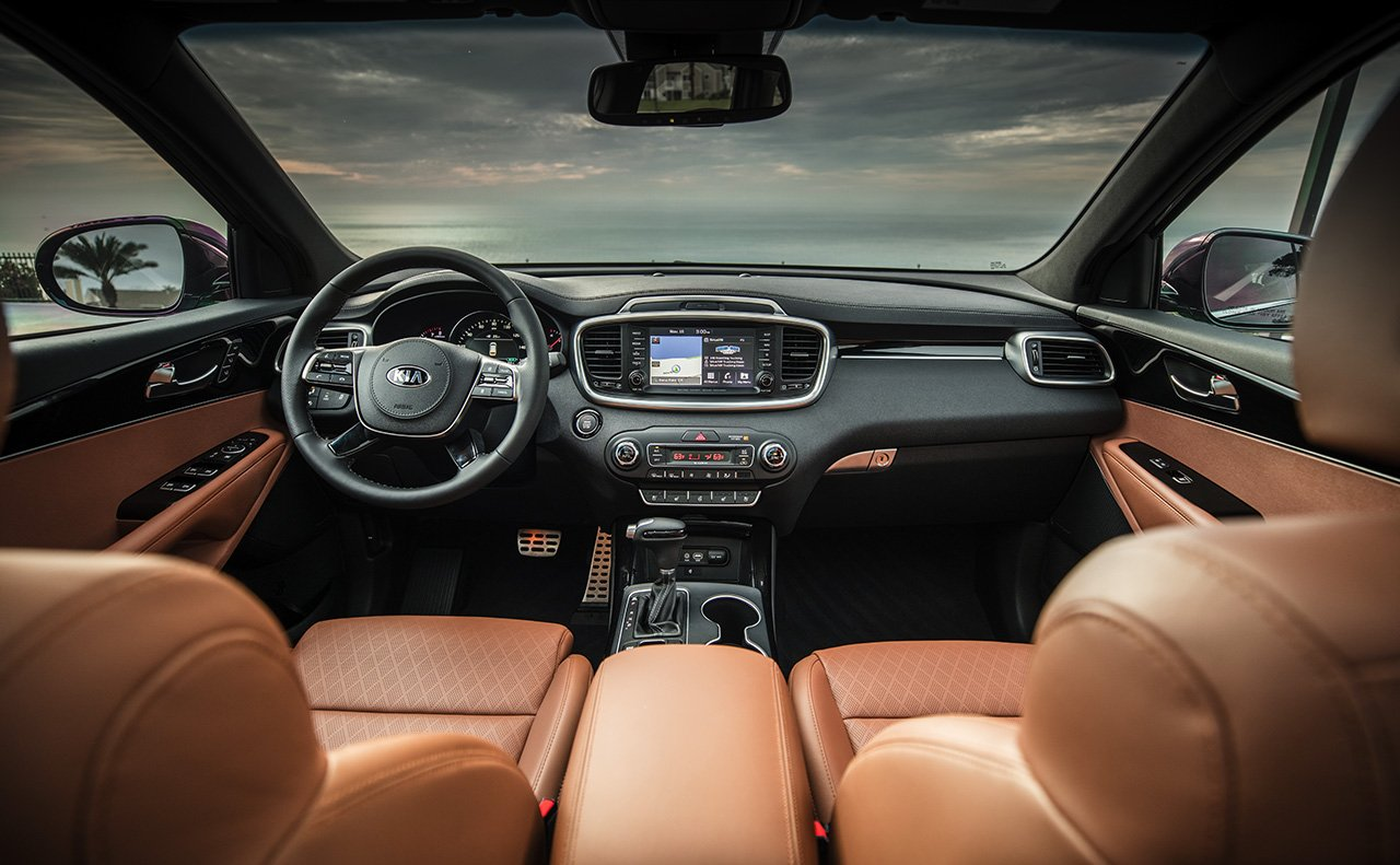 2019 Kia Sorento Dashboard Interior