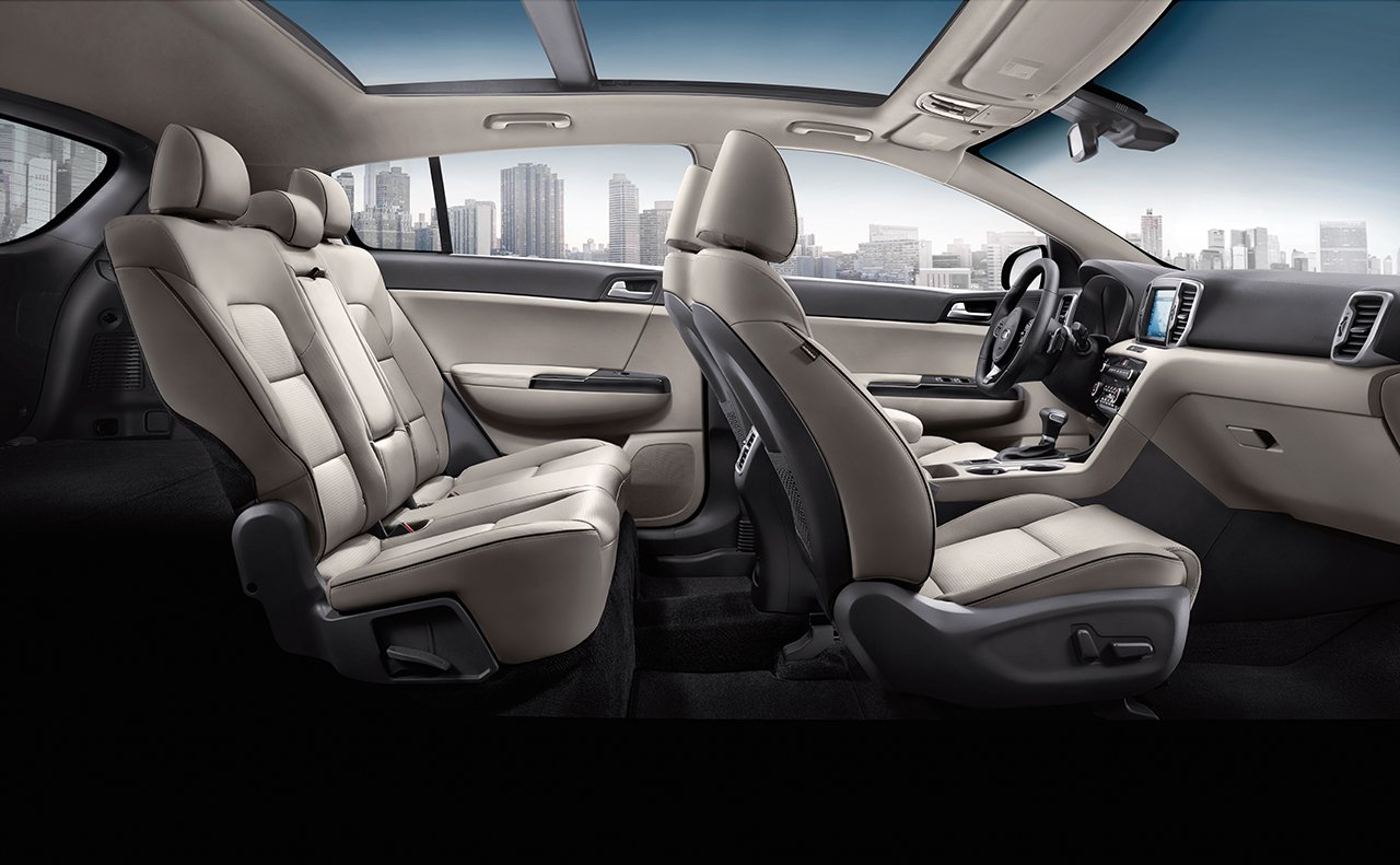 2019 Kia Sportage Leather Seating Interior