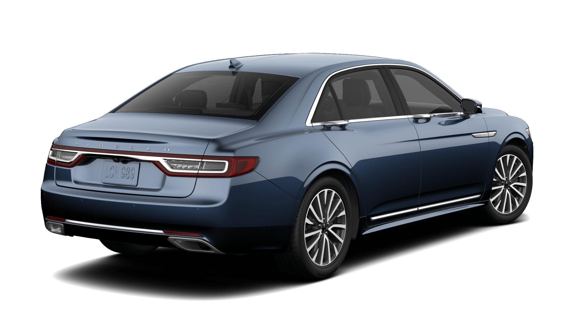 2019 Lincoln Continental Select Blue Exterior Rear Picture.png