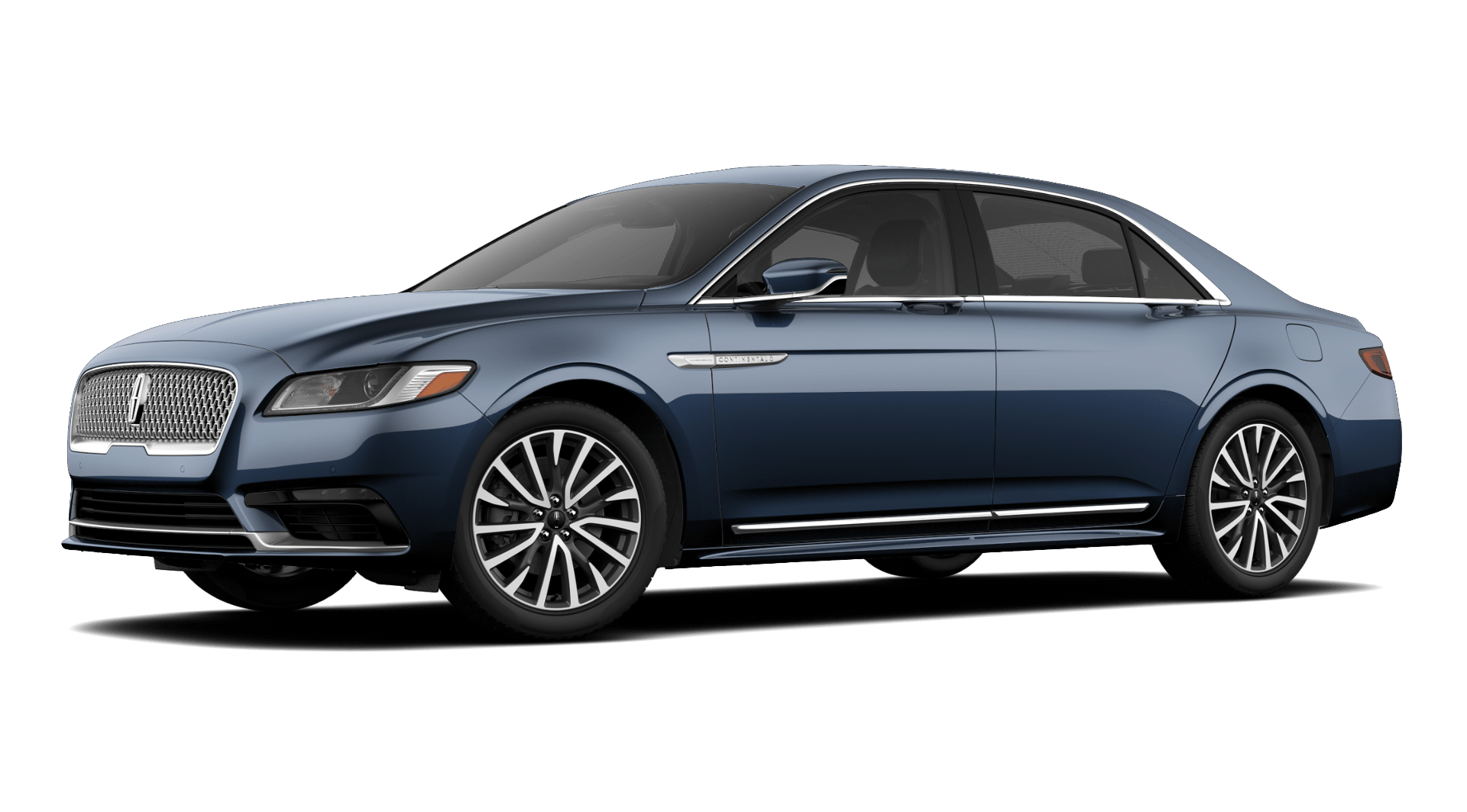 2019 Lincoln Continental Select Blue Exterior Side Picture.png