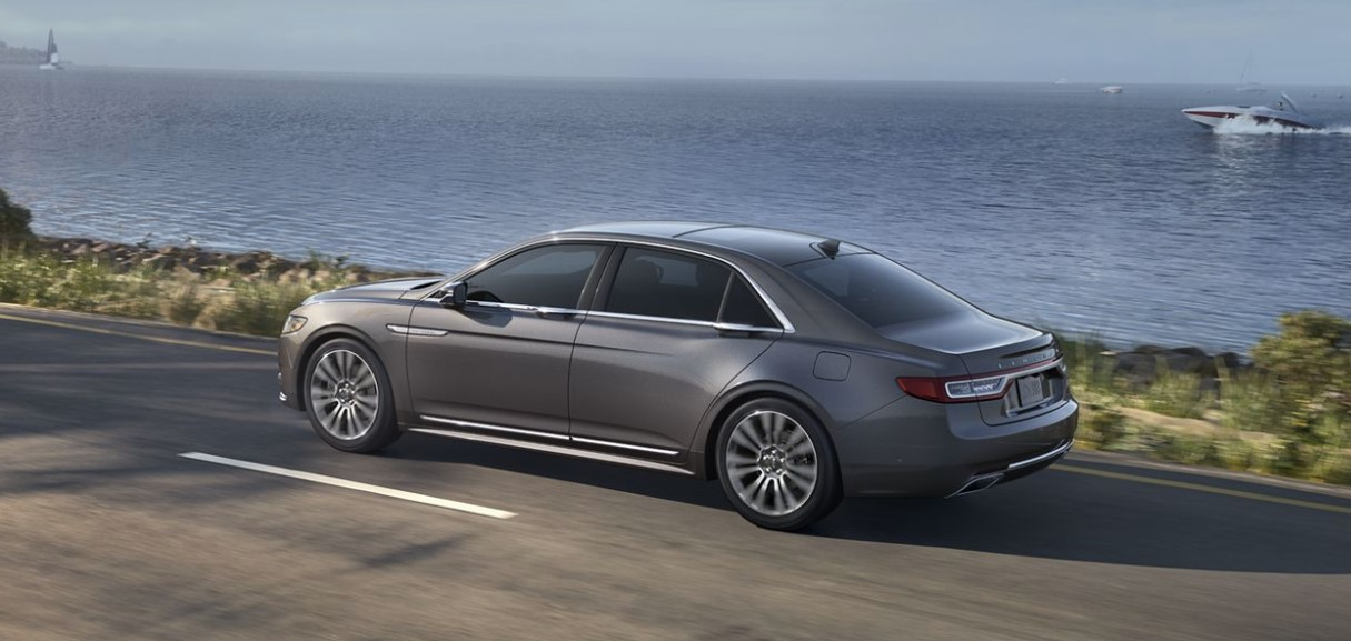 2019 Lincoln Continental Side Gray Exterior