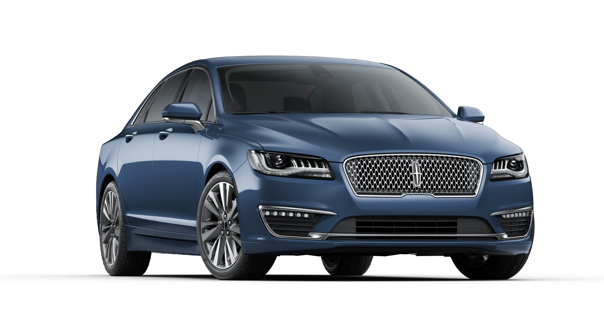 2019 Lincoln MKZ Reserve II Blue Diamond Exterior Front View.png