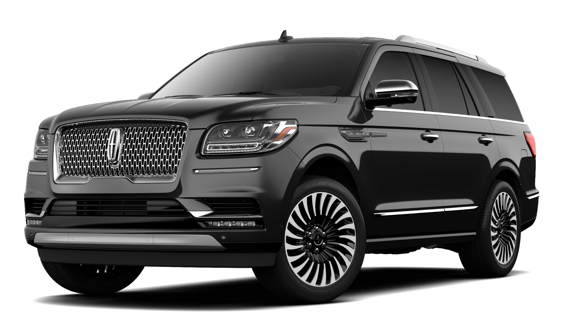 2019 Lincoln Navigator Black Label Black Exterior Front View