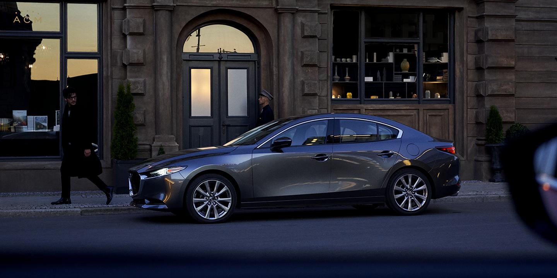 2019 Mazda 3 Gray Exterior Side Profile