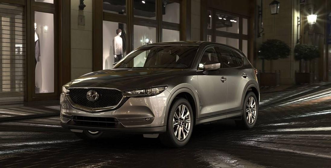 2019 Mazda CX-5 Front Gray Exterior