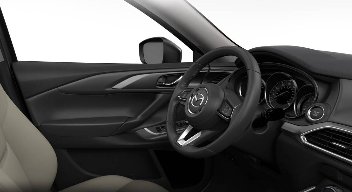 2019 Mazda CX-9 Front Dashboard Wheel Interior