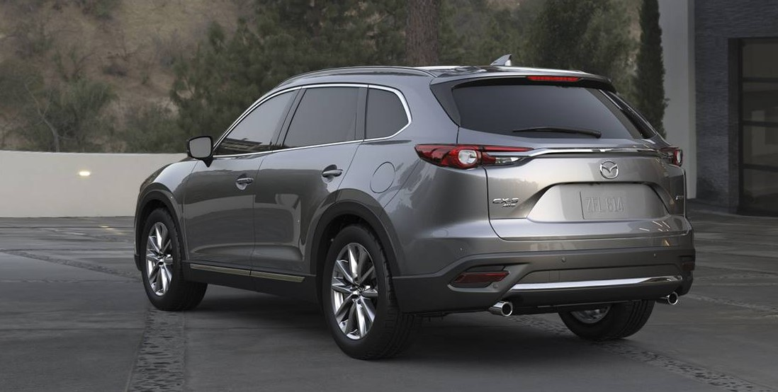 2019 Mazda CX-9 Rear Gray Exterior