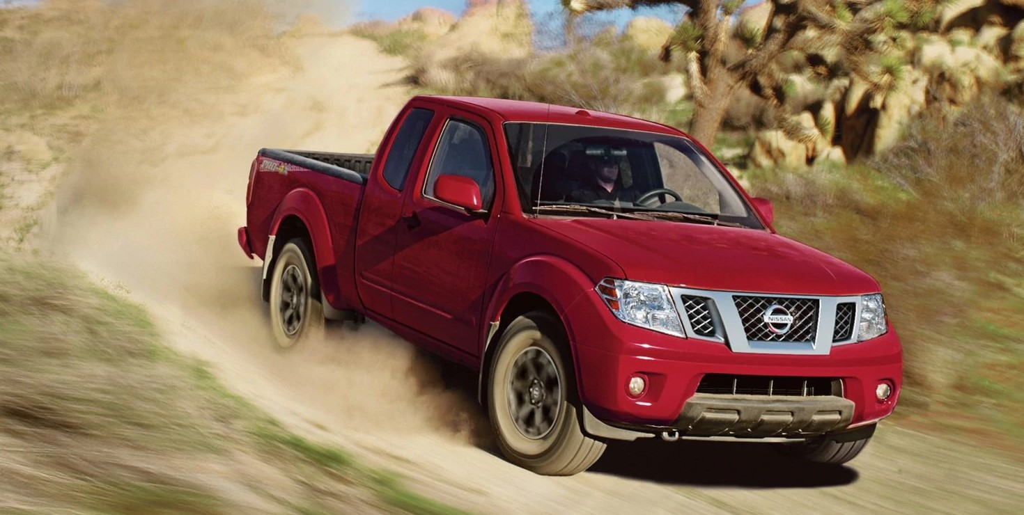 2019 Nissan Frontier Red Exterior Front View Off-Road