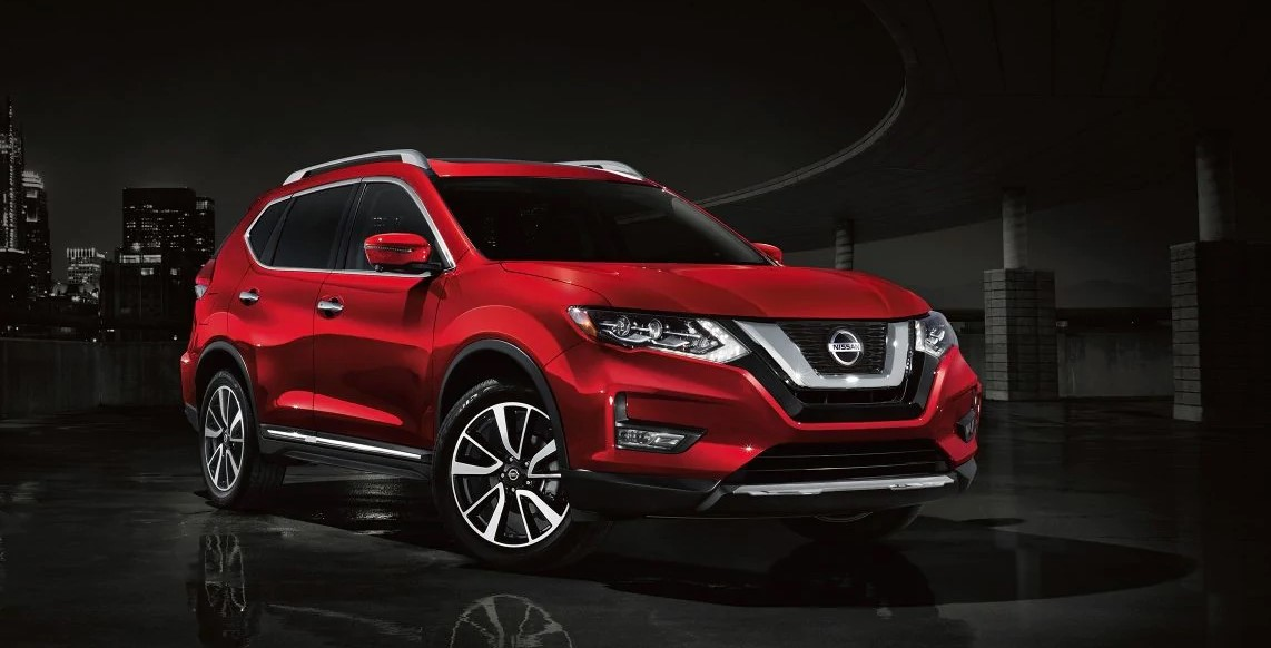 2019 Nissan Rogue Front Red Exterior