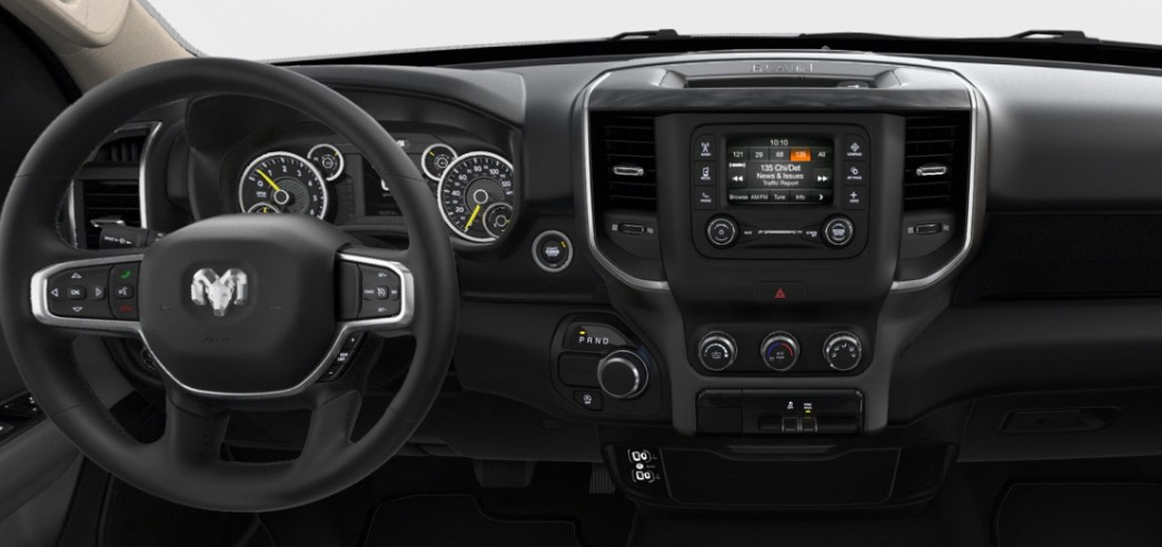 2019 Ram 1500 Big Horn Interior