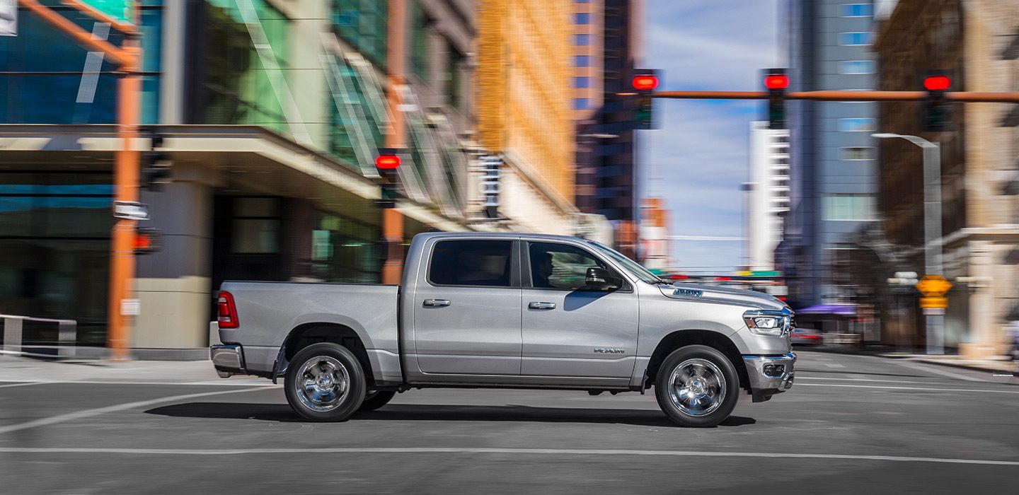 2019 Ram 1500 Big Horn Silver Side Exterior