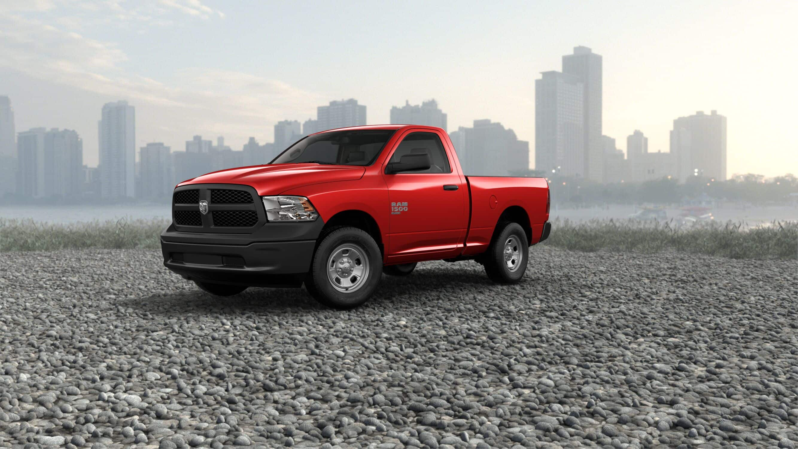 2019 Ram 1500 Classic Tradesman Red Exterior Front Picture