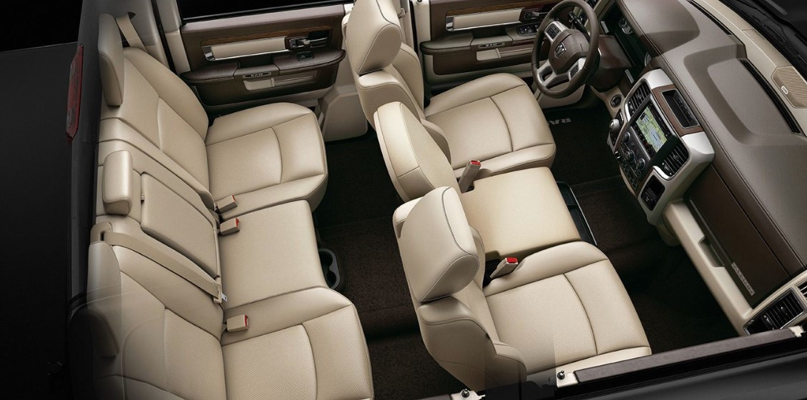 2019 Ram 1500 Classic Seating Interior