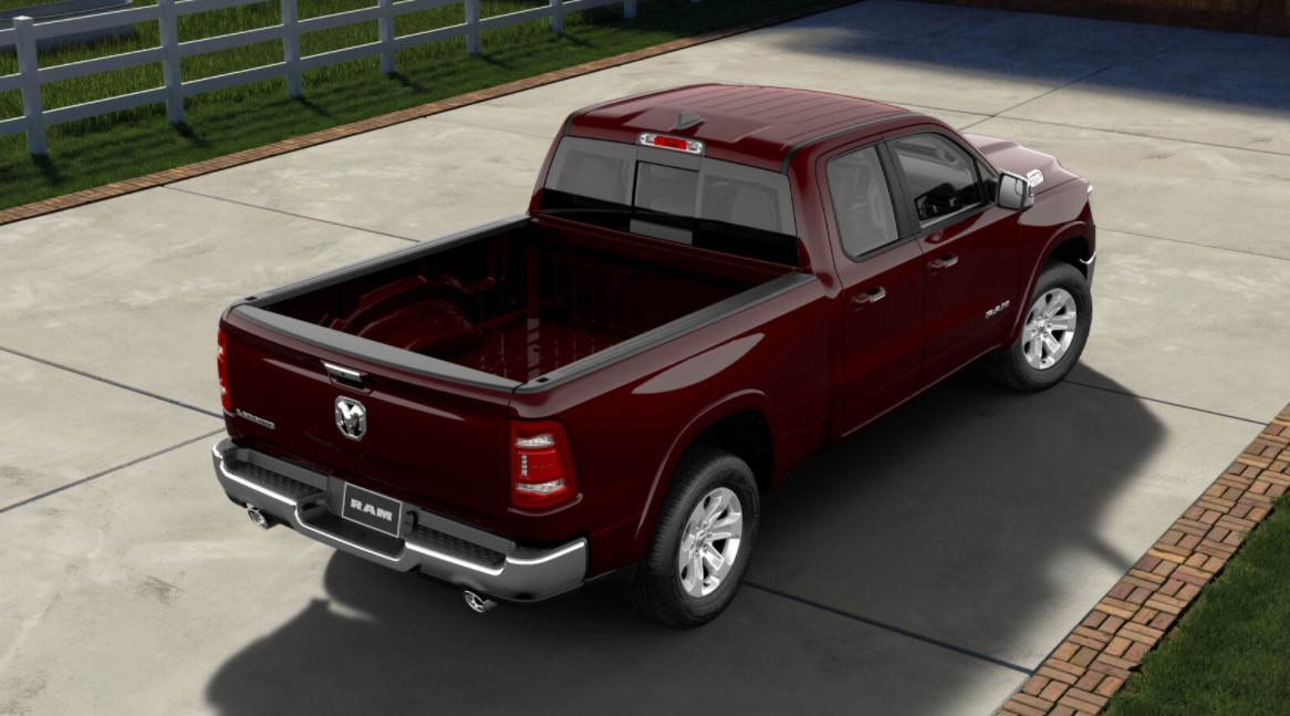 2019 Ram 1500 Laramie Back Red Exterior