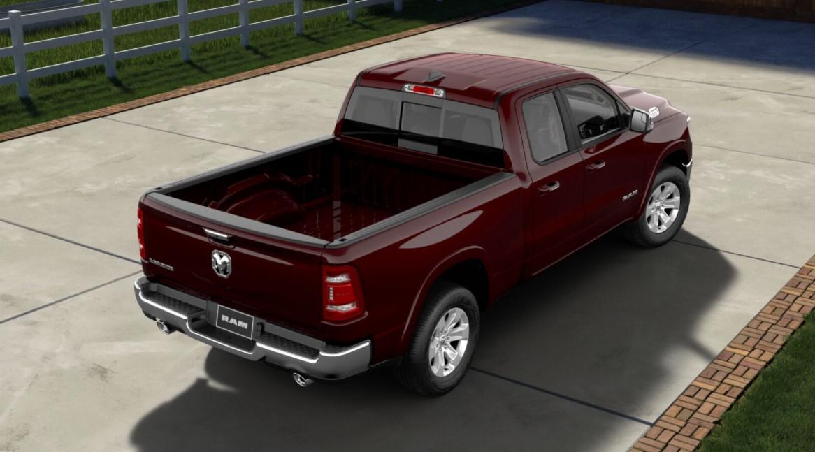 2019 Ram 1500 Laramie Rear Red Exterior