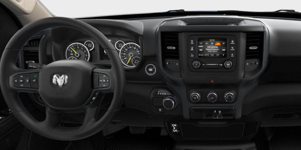 2019 Ram 1500 Tradesman Dashboard Interior