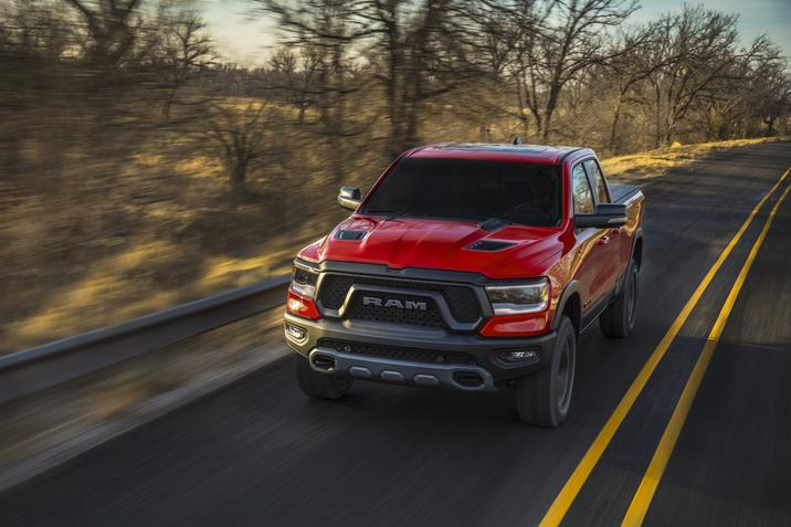 2019 Ram 1500 Red Exterior Front