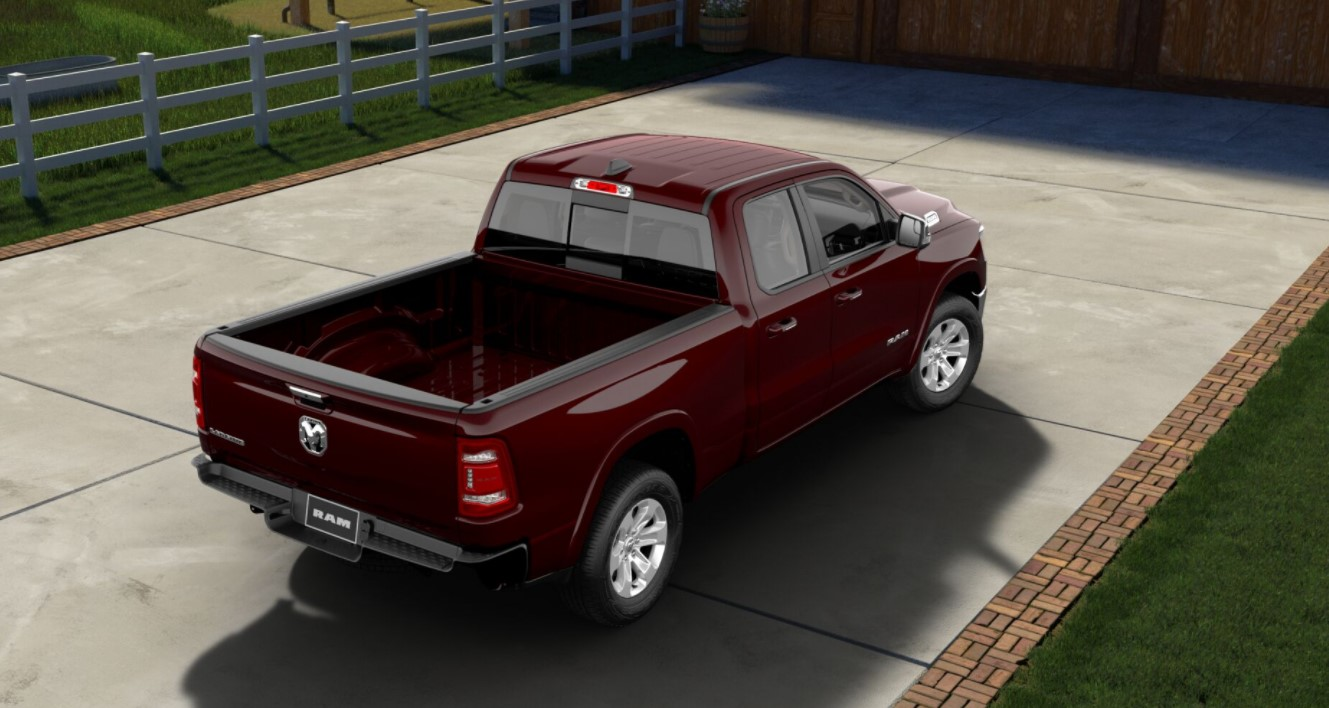 2019 Ram 1500 Red Rear Exterior