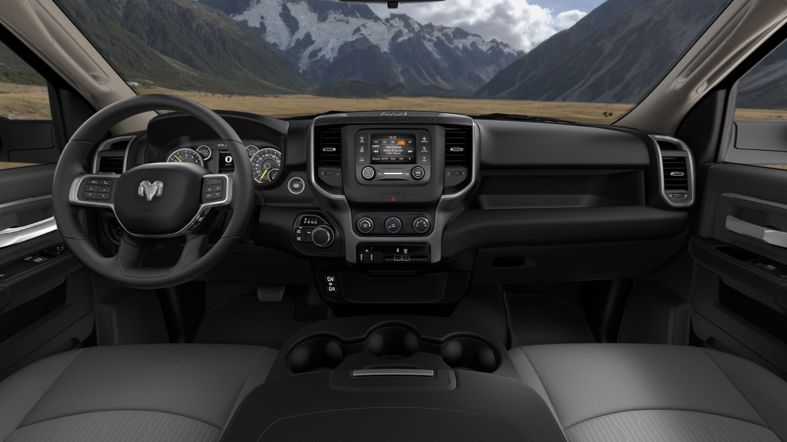 2019 Ram 2500 Big Horn Front Interior Picture