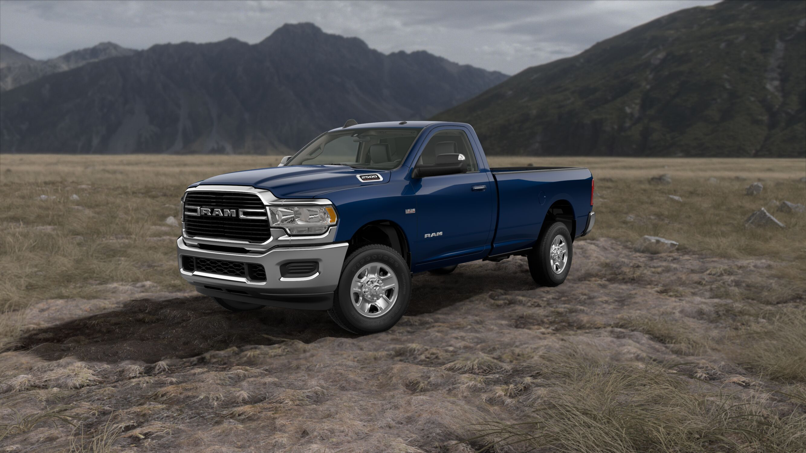 2019 Ram 2500 Big Horn Patriot Blue Exterior Front Picture